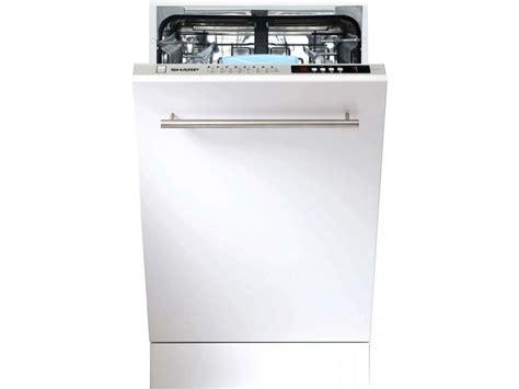 lave vaisselle sharp sharp lave vaisselle tout integrable 45 cm sharp qws 32 i 472 x vente de sharp conforama