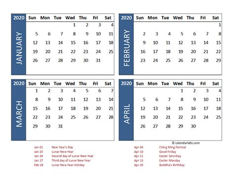 month calendar hong kong template  printable templates