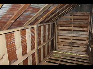 how to build free or cheap shed from pallets diy garage With cheapest garage to build