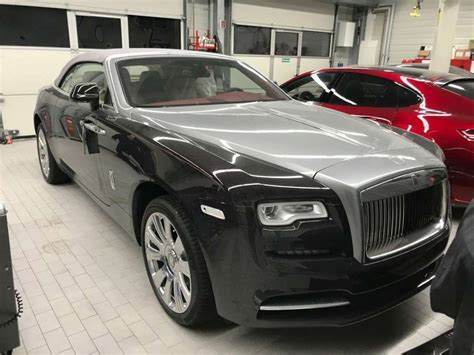 two tone color 2018 rolls royce cabriolet new car two tone color