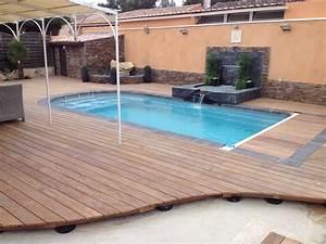 nivremcom bois pour terrasse piscine pas cher With amazing piscine en bois semi enterree pas cher 0 nivrem terrasse bois piscine semi enterree