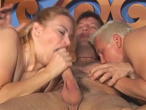 Busty Milf And Two Guys In Bisexual Threesome Big Tits Porn