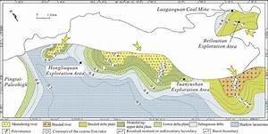Sedimentary Facies Map And Coarse  Fine Ratio In The Early