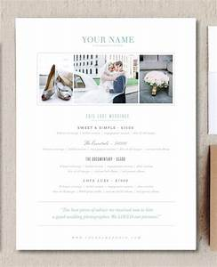 modern photography price list template deals infoparrot With wedding photography pricing guide template