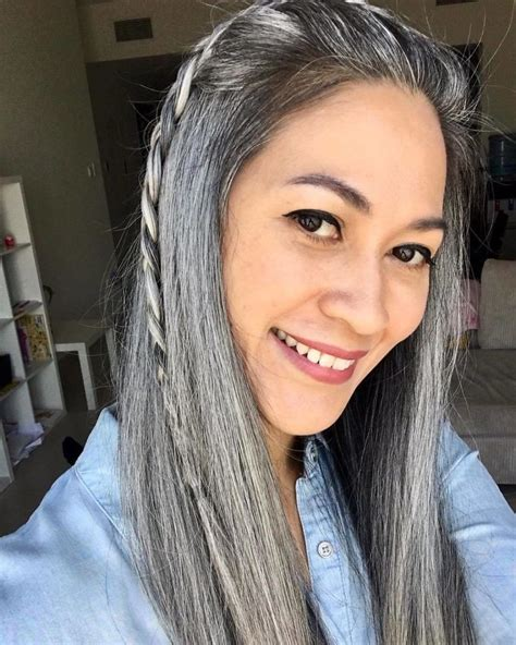 Going Gray Are You Thinking About It by Are You Thinking About Going Gray Salon D 201 P 202 Che Mode