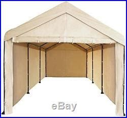 canopy garage side wall kit    carport car shelter big tent portable cover patio awnings