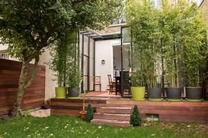 renovation d39une maison en meuliere contemporain With marvelous photo deco terrasse exterieur 18 decoration maison ancienne