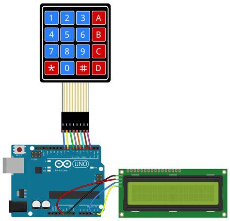 arduino lcd wiring diagram wiring diagram and schematics