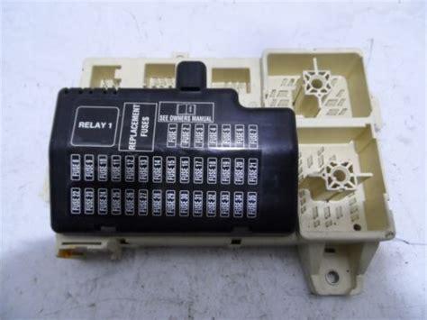 jaguar  type   fuse box front relay xr