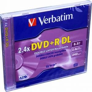 Double Layer Dvd : verbatim dvd r dl double layer logo branded 1 disc ~ Kayakingforconservation.com Haus und Dekorationen