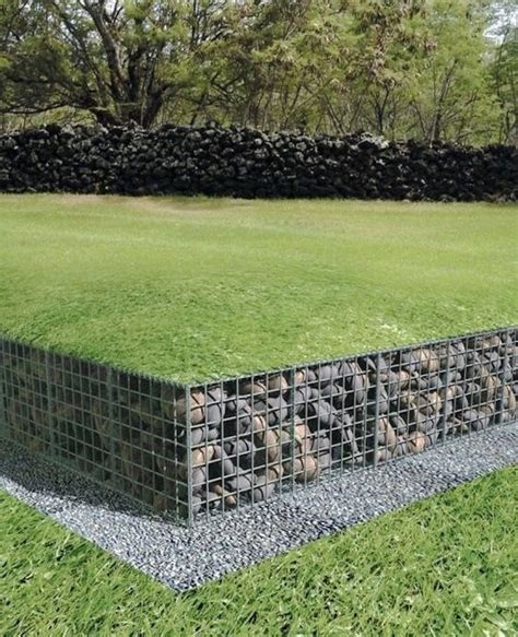 Garden Retaining Wall by Gabion Retaining Wall Ideas Yahoo Image Search Results