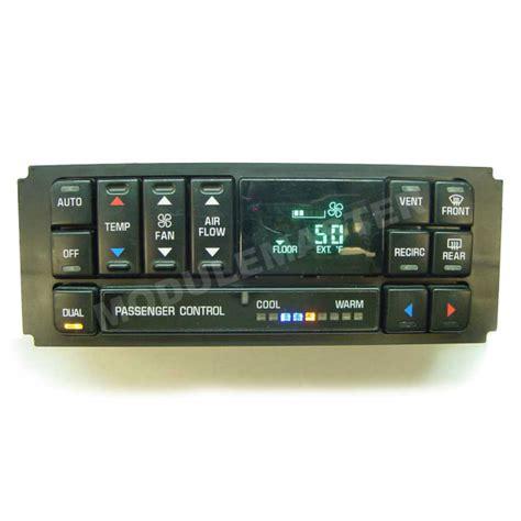 Buick Century LeSabre Regal (1996-2005) Climate Control ...