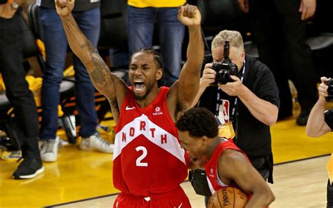 raptors beat warriors  win   nba title inforum
