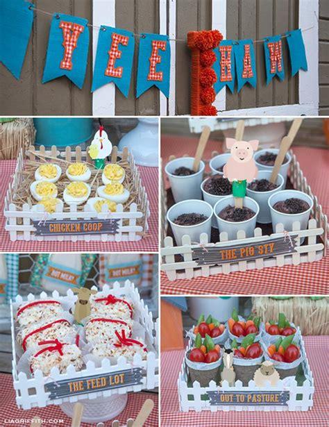 karas party ideas farm birthday party planning ideas
