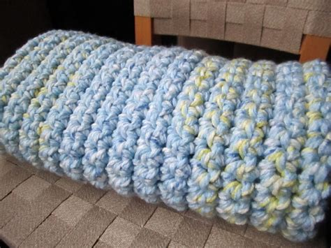 Two Easy Crochet Baby Blankets