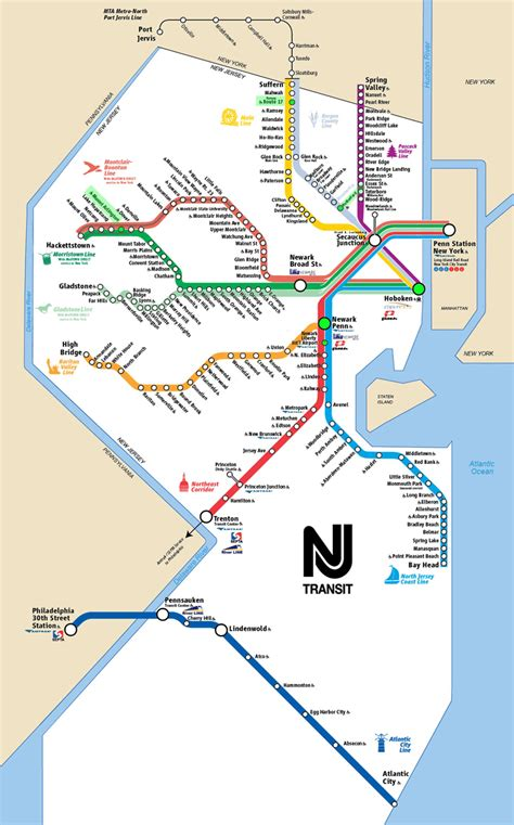 nj transit light rail schedule how to access nyc manhattan from new jersey faq new