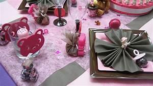 Deco Table Bapteme Fille : le g ant de la f te le bapt me ~ Preciouscoupons.com Idées de Décoration