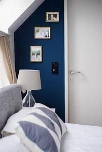 Grau Blaue Wand : die 25 besten ideen zu wandfarbe petrol auf pinterest farbe petrol petrol und schlafzimmer ~ Watch28wear.com Haus und Dekorationen