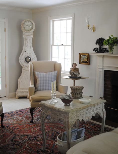 Tone On A Swedish Style Cottage The Living Room With
