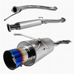 Pro Design Stainless Steel Exhaust System For 1992 Honda Civic