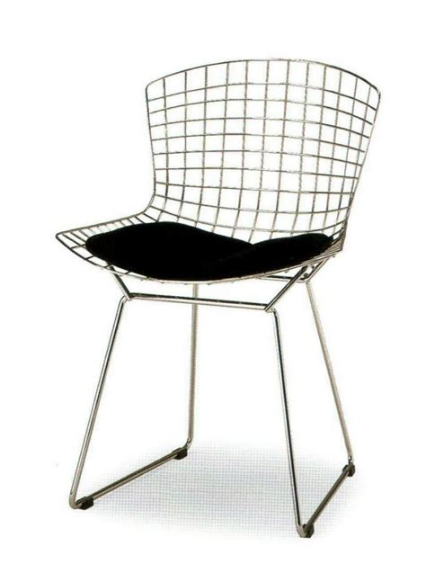 bertoia chaise harry bertoia wire chair bauhaus italy