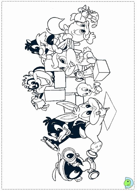 baby looney toon coloring pages coloring home