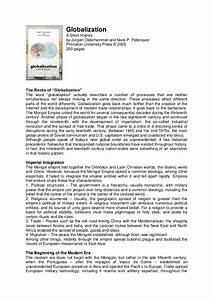 globalization argumentative essay