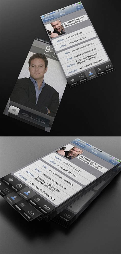 highly creative business card designs design