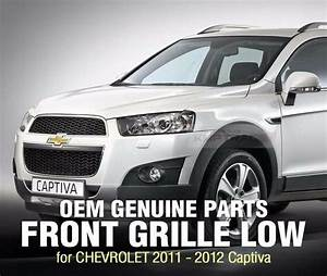 Genuine Parts Front Under Grille Chrome For Chevrolet 2011