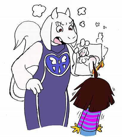Undertale Toriel Frisk Characters Busted Human Meme