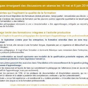 (PDF) Formation & Parcours, Recueil des travaux ...