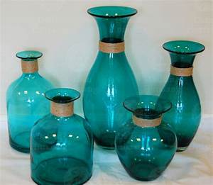 Vases Design Ideas: Colored Glass Vases Collectible