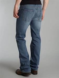 Armani jeans J05 Boot Cut Light Wash Jeans in Blue for Men (denim light wash) | Lyst