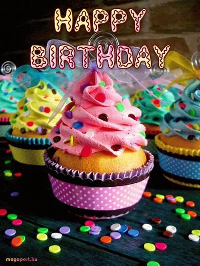 Birthday Cupcakes Happy Animated Cupcake Megaport
