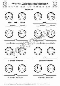 Zeitspannen Berechnen Grundschule : rechnen mit uhrzeiten ~ Themetempest.com Abrechnung