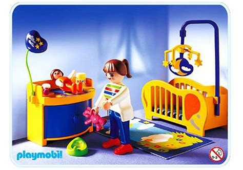 chambre de bébé playmobil maman chambre de bébé 3207 b playmobil