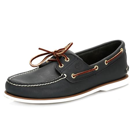 Boat Shoes Navy Blue by Timberland Mens Classic Boat Shoes Navy Blue Or Brown