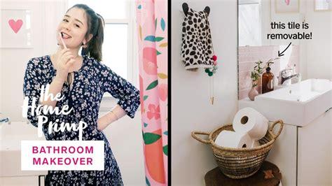 stunning small bathroom makeover   budget  home