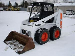 Bobcat Skid Steer Loader 843 843b Workshop Service Repair