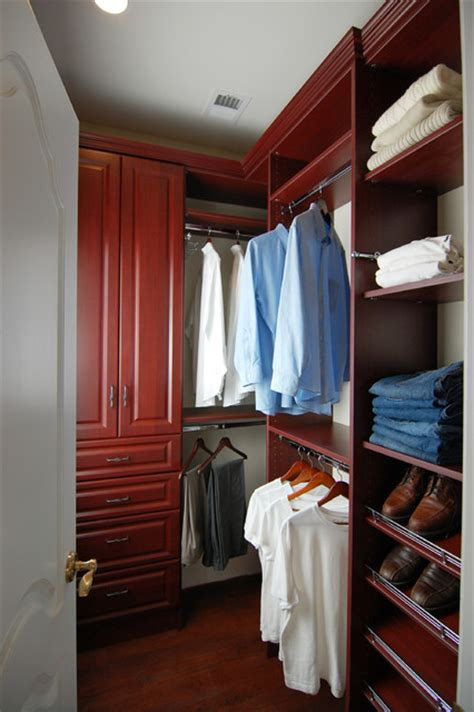 his and hers walk in closet potomac md traditional