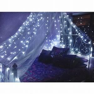 Tumblr Zimmer Lichterketten : bedroom canopy lights tumblr rooms fairy light diy home decor pinterest canopy fairy ~ Eleganceandgraceweddings.com Haus und Dekorationen