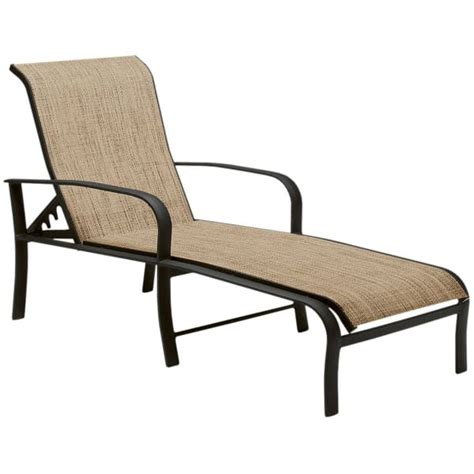 fremont adjustable chaise lounge by woodard patio furniture