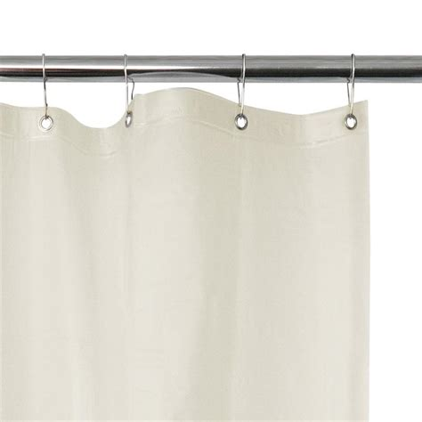 asi commercial grade vinyl shower curtain