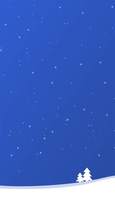 blue christmas iphone  wallpaper hd