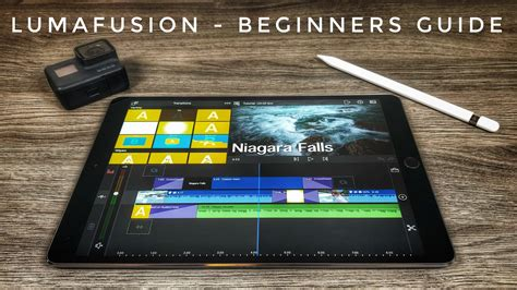 beginners guide  lumafusion mobile video editing   ipad air photography gopro