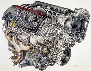 Ls1 Engine  Cutaway View  Fits 98