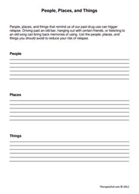 trigger warning template for shows free relapse prevention worksheets relapse prevention
