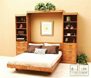 Create Your Own Wall Bed With A DIY Kit Lift Stor Beds