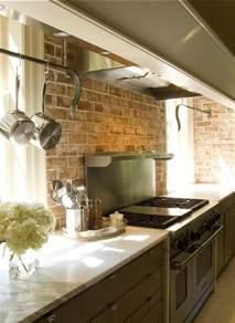 backsplash for kitchen walls exiting brick wall kitchen backsplash rustic interior design ideas rugdots com