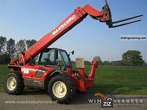 Manitou Mt1637 Sl  Sway  2001 Telescopic Lift Truck Photo